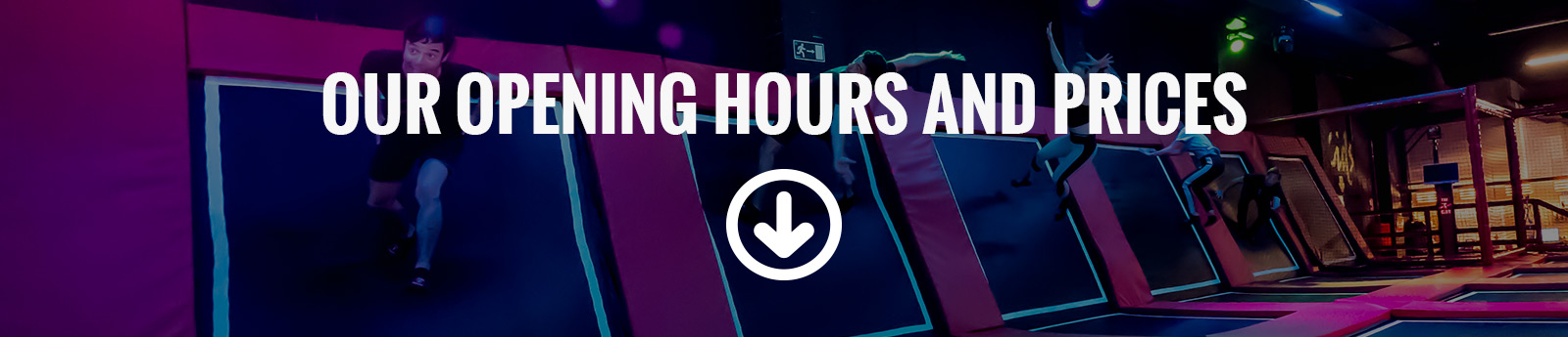 Slider - The Indoor Jumping Club - Opening Hours and Prices